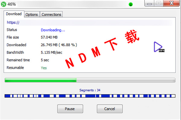 Neat Download Manager(NDM下载器)使用教程
